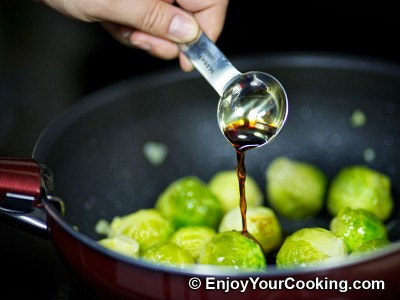 Brussels Sprouts in Tomato and Soy Sauce Recipe: Step 8