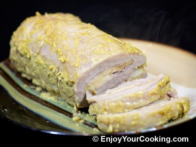 Pork Roast with Apples and Mustard Recipe: Step 7