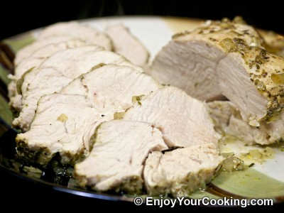 Roast Turkey Breast with Onions and Herbs