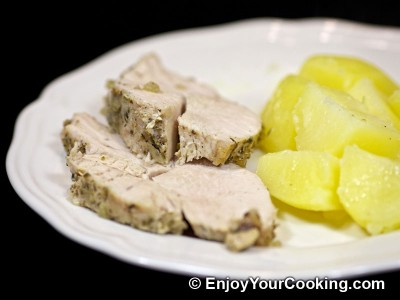 Roast Turkey Breast with Onions and Herbs Recipe: Step 9