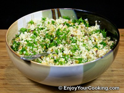Whole Roast Turkey with Couscous Stuffing Recipe: Step 7
