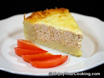 Turkey Pie with Grated Potatoes