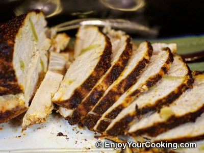 Turkey Breast Roast with Garlic, Paprika and Black Pepper