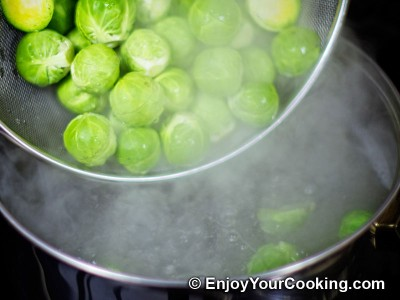 Brussel Sprouts with Mushrooms and Onions Recipe: Step 5