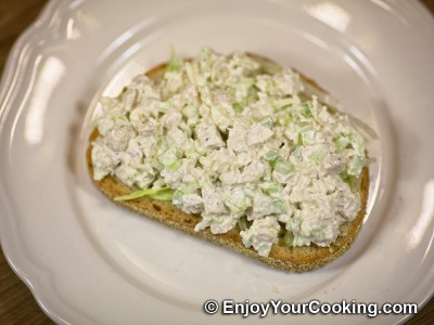 Chicken and Celery Salad Sandwich Recipe: Step 13