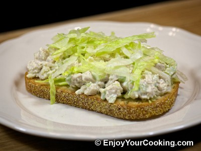 Chicken and Celery Salad Sandwich Recipe: Step 14