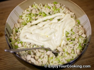 Chicken and Celery Salad Sandwich Recipe: Step 8
