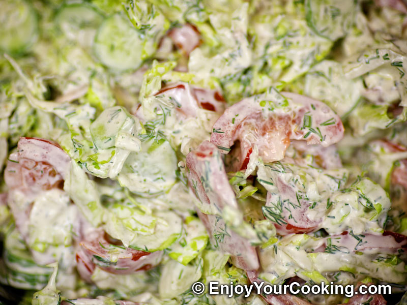 lettuce salad recipes with mayonnaise