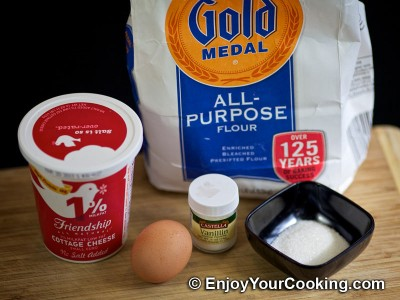 Cottage Cheese Pancakes Recipe: Step 1