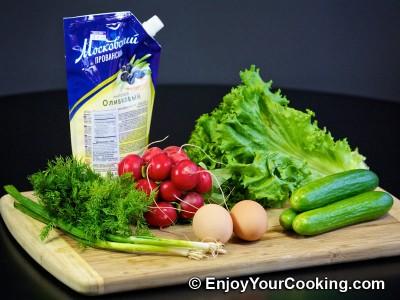 Spring Radish Salad Recipe: Step 1