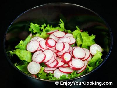 Spring Radish Salad Recipe: Step 3