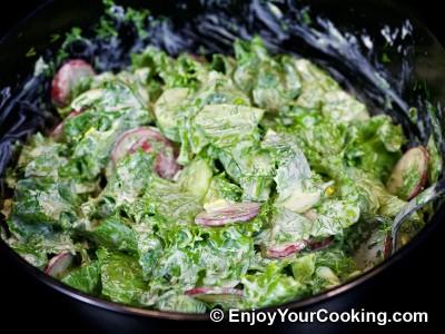 Spring Radish Salad Recipe: Step 8