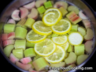 Rhubarb Kompot Recipe: Step 6
