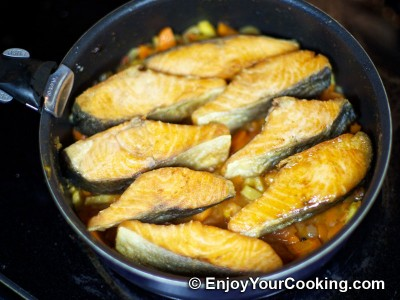 Fish with Vegetables Recipe: Step 10