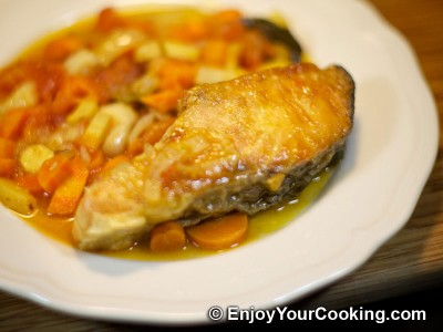 Fish with Vegetables Recipe: Step 13