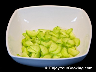 Ramps Spring Salad with Eggs and Cucumbers Recipe: Step 2