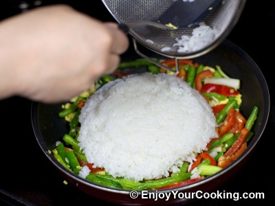 Fried Rice with Chicken and Vegetables Recipe: Step 15