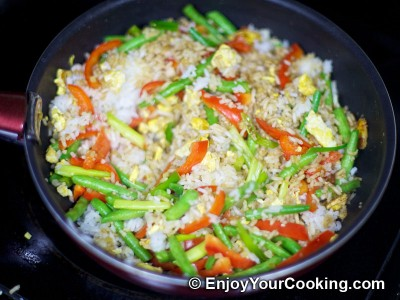 Fried Rice with Chicken and Vegetables Recipe: Step 17