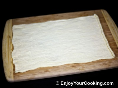 Quick Crescent Rolls with Meat and Cheese Recipe: Step 2