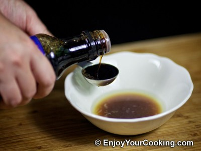 Salmon in Mustard, Lemon Juice and Soy Sauce Marinade Recipe: Step 3