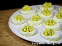 Deviled Eggs with Blue Cheese Recipe