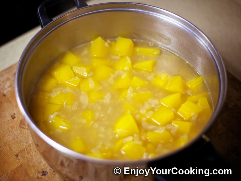 Pumpkin and Rice Soup-Puree | Recipe | My Homemade Food ...