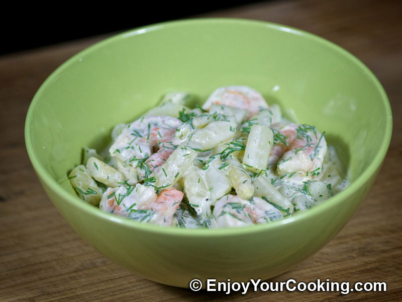 shrimp and asparagus salad recipe step 13 enjoy tags asparagus