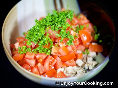 Tomato and Chicken Salad Recipe: Step 5