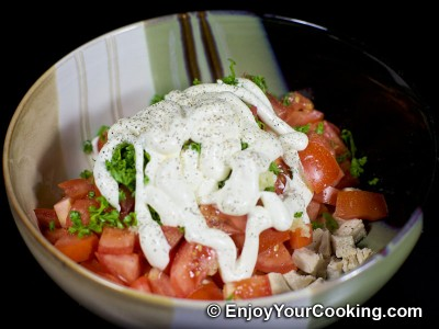 Tomato and Chicken Salad Recipe: Step 8