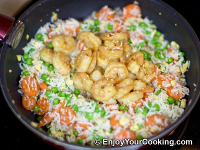 Fried Rice with Shrimps Recipe: Step 15