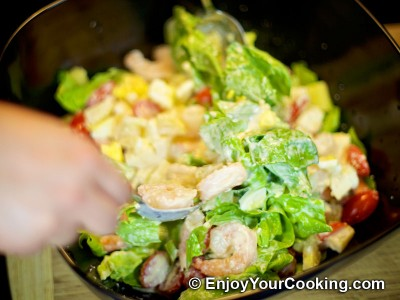 Shrimp, Lettuce and Egg Salad Recipe: Step 14