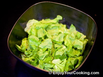 Shrimp, Lettuce and Egg Salad Recipe: Step 2