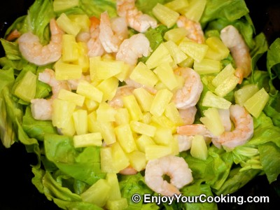 Shrimp, Lettuce and Egg Salad Recipe: Step 4