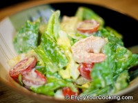 Shrimp, Lettuce and Egg Salad Recipe