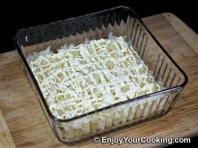 Shrimp, Egg and Potato Layered Salad Recipe: Step 11