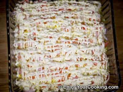 Shrimp, Egg and Potato Layered Salad Recipe: Step 15