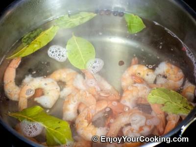 Shrimp, Egg and Potato Layered Salad Recipe: Step 4