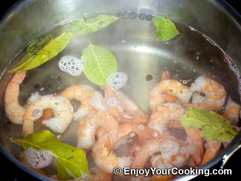 Shrimp, Egg and Potato Layered Salad | Recipe | My Homemade Food ...