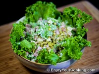 Ham, Pineapple and Peas Salad Recipe
