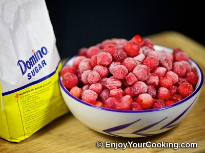Sour Cherry Kompot Recipe: Step 1