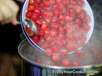 Sour Cherry Kompot Recipe: Step 3