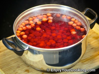 Sour Cherry Kompot Recipe: Step 4
