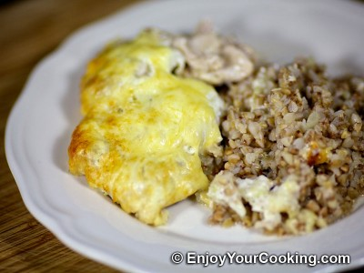 Chicken and Buckwheat Casserole