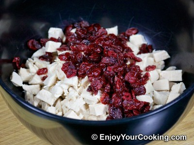 Walnut Cranberry Chicken Salad Recipe: Step 4