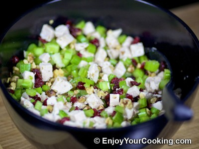 Walnut Cranberry Chicken Salad Recipe: Step 7
