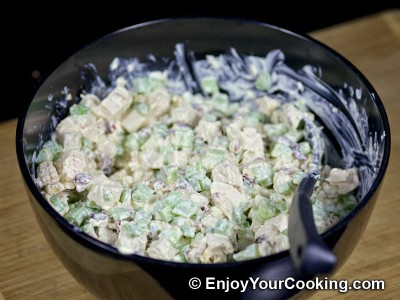 Walnut Cranberry Chicken Salad Recipe: Step 9