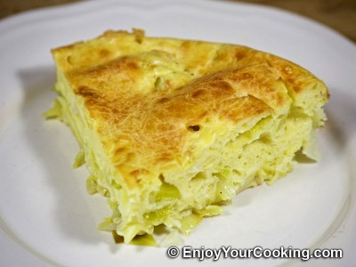 Cabbage Baked with Eggs