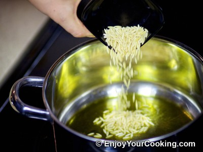 Recipe for Boiled Rice with Orzo: Step 2