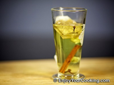 Hot Camomile Tea with Rum Recipe: Step 4