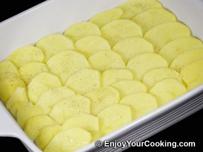 Recipe for Scalloped Potatoes with Parmesan: Step 13
